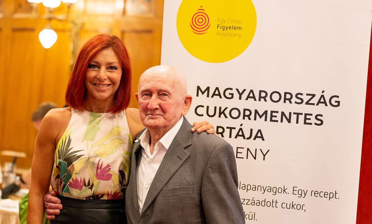 Erős Antónia és Gyuri bácsi