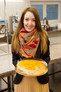 Lehoczky Tímea és Egy szelet barack elnevezésű, különdíjas tortája