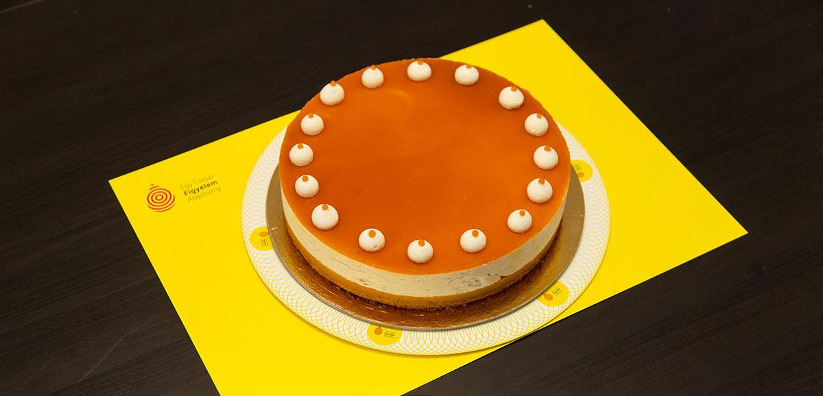 Fűszeres sütőtökös ricotta torta