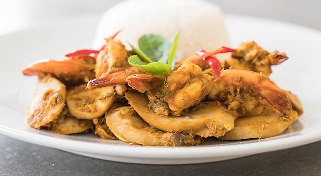 Currys csirkefalatok